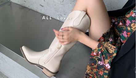 Ver.zero 5cm Western Hi quality Boots
